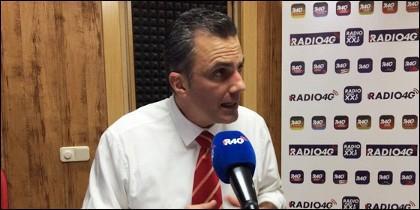 Javier Ortega, miembro de Vox.