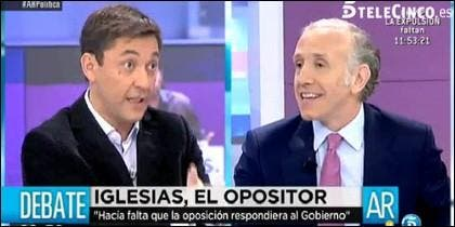 Javier Ruiz criticó a Eduardo Inda sus ataques a Podemos.