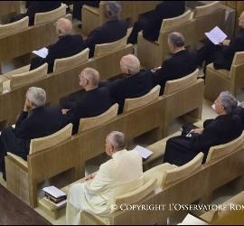 El Papa, en los Ejercicios espirituales