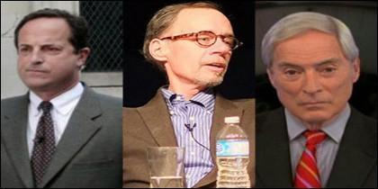 Los tres periodistas