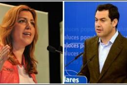 Susana Díaz y Juanma Moreno.