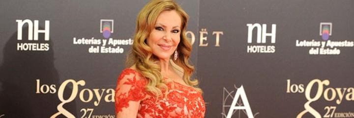La naturalidad y el menos es más no van con Ana Obregón.