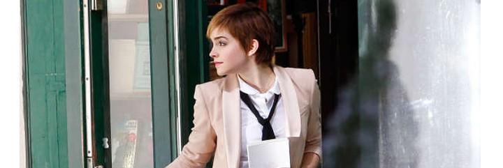 Emma Watson ha enamorado con su corte de pelo a lo garçon.