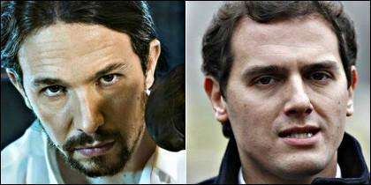 Pablo Iglesias vs Albert Rivera... guantes fuera.