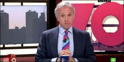 El periodista Eduardo Inda.