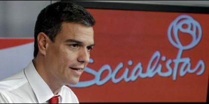 El secretario general de los socialistas.