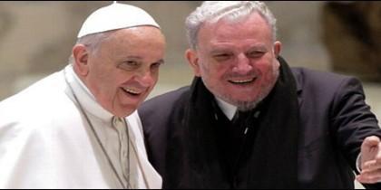 El Papa Francisco y Kiko Argüello
