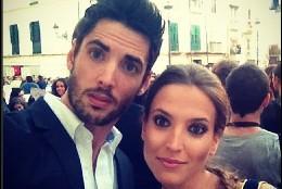 Ana Fernández y su novio, Santi Trancho.