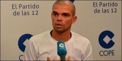 Pepe en 'El Partido de las 12' de COPE.
