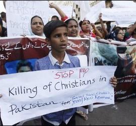 Protestas por la muerte de cristianos en Lahore