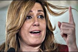 La socialista Susana Díaz.