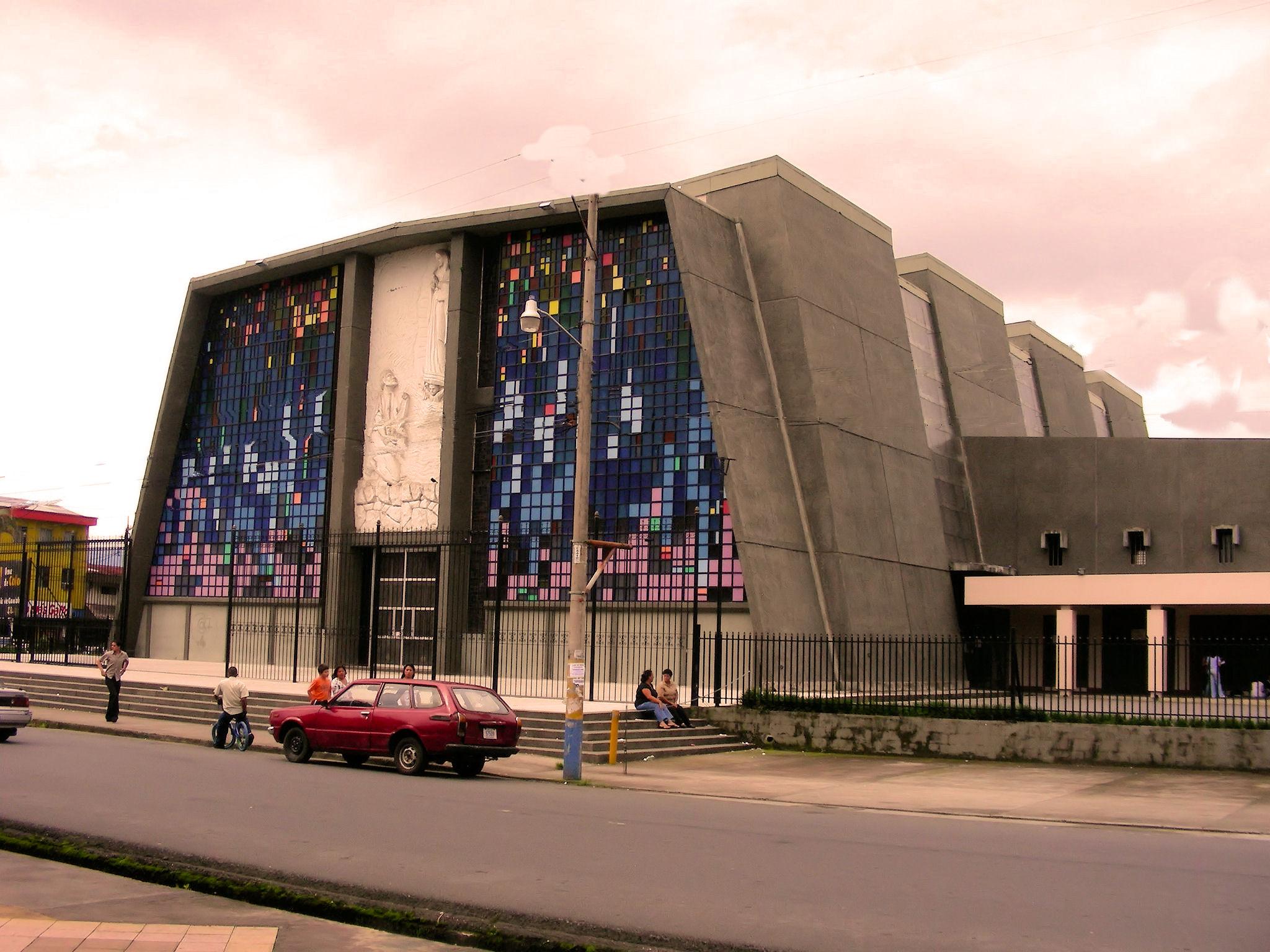 Guadalupe San Jose Costa Rica La Preciosa Y Moderna Iglesia De Nuestra Senora