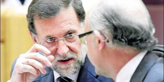 Montoro y Rajoy