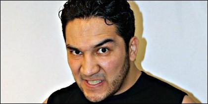 El luchador Pedro Aguayo Martínez.