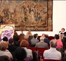 Miguel Elías donó un cuadro de Unamuno