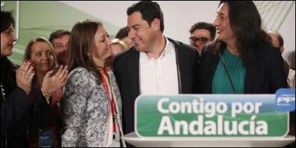 Juanma Moreno admite su derrota en las andaluzas 2015.