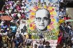 Miles de salvadoreños recordaron a monseñor Romero