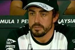 El piloto de Fórmula 1, Fernando Alonso.