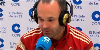 Andrés Iniesta.