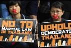 Periodistas tailandeses