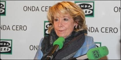 La candidata del PP por Madrid.