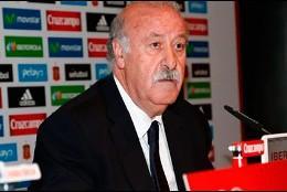 El seleccionador nacional, Vicente del Bosque.
