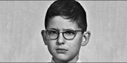 Mariano Rajoy de niño.