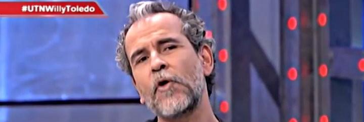 El actor Willy Toledo, partidario de la represión y la tortura en Cuba y Venezuela, en prime-time de T5.
