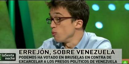 Íñigo Errejón en laSexta Noche. 28 marzo 2015