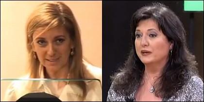 Isabel Gallego y Mari Pau Domínguez.