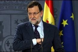 El presidente Mariano Rajoy.
