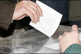 Votación, urna, papeleta.