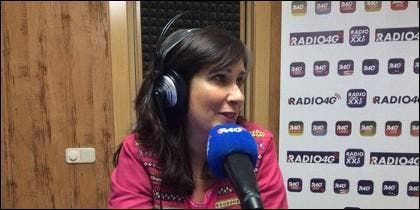 La periodista Esther Cervera.
