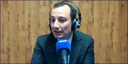 Álvaro Nieto, subdirector de Tiempo.