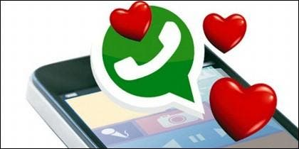 WhatsApp y amor