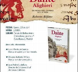 Invitación a la presentación de 'Yo, Dante', de Alifano (Khaf)