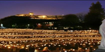 Procesión de las Antorchas en Lourdes
