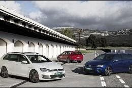 VW Golf VAriants 1