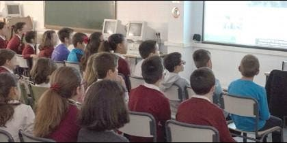 Escolares de Mérida y Badajoz