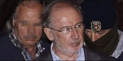 Rodrigo Rato sale de su domicilio. 16 abril 2015