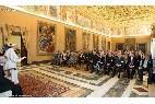 El Papa recibe a la Academia de las Ciencias