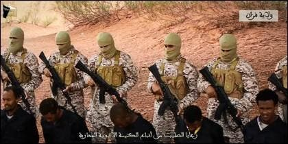 La ejecución en Libia