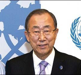 Ban Ki Moon y el director de Scholas