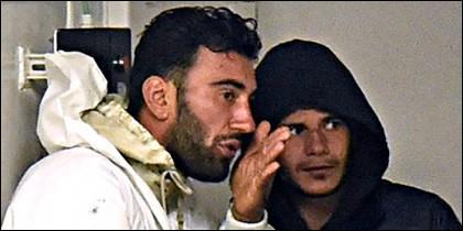 El tunecino Mohamed Alí Malek, de 27 años, y el sirio Mahmud Bikhit.