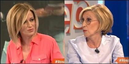 Susanna Griso y Rosa Díez.
