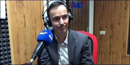 Javier Labiano, periodista.