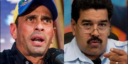 Capriles y Maduro