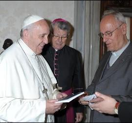 Kräutler, con Francisco