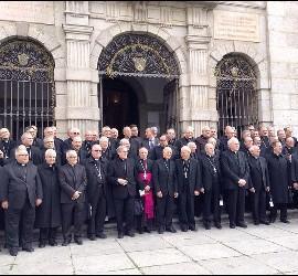 Los obispos españoles, en Ávila