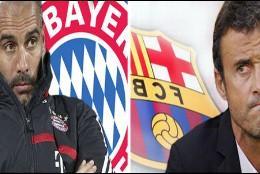 Pep Guardiola y Luis Enrique.